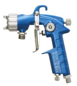 Spray paint gun image